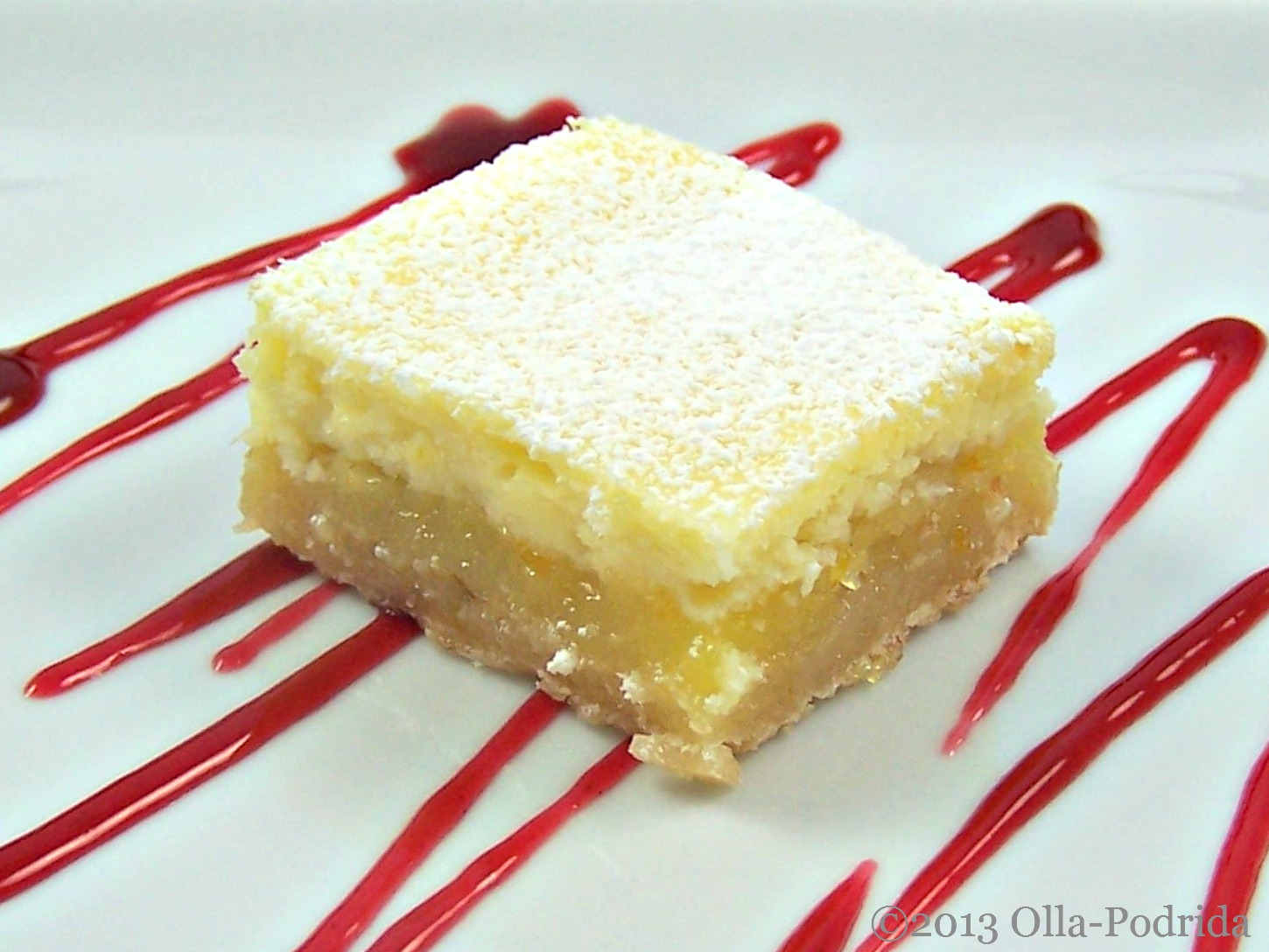 Olla-Podrida: Meyer Lemon Cheesecake Bars