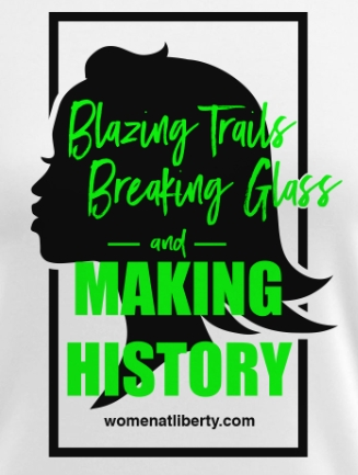 """She's Making History"" logo T-Shirts!"