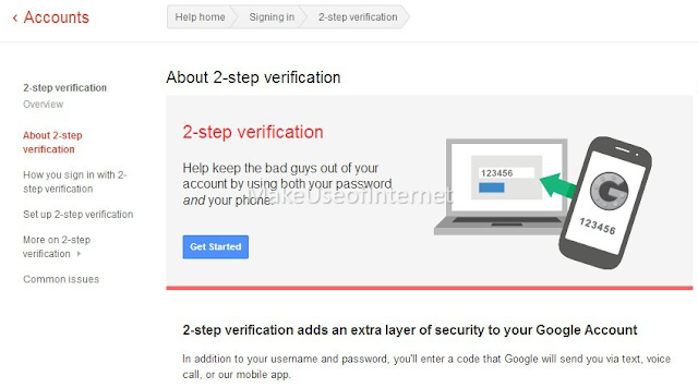 Gmail's Two Step Authentication