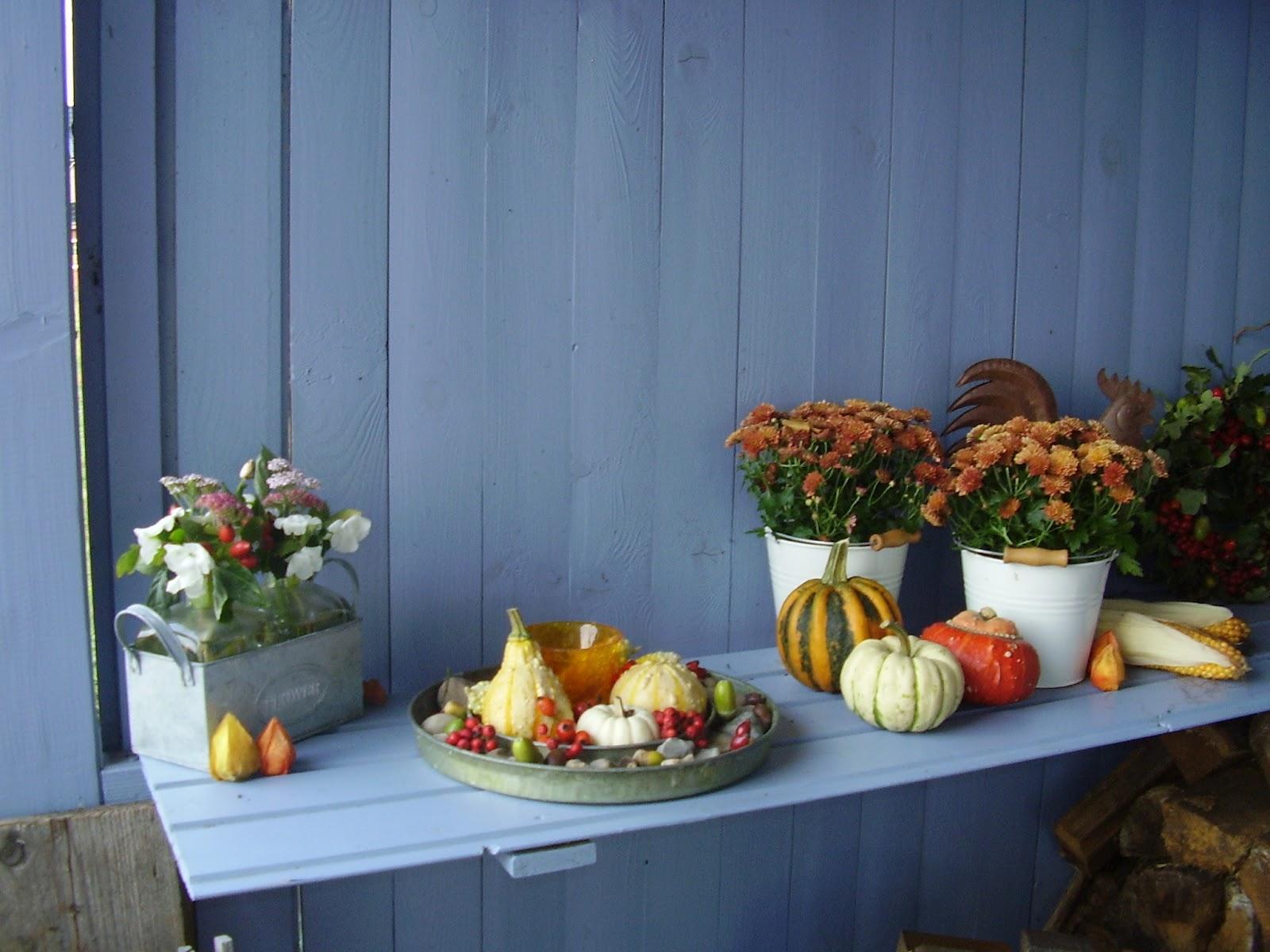 Sanni s welt herbstliche gartendeko for Herbstliche gartendeko