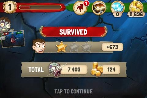 Zombie Swipeout На Андроид