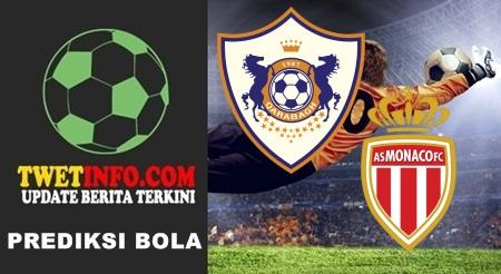 Prediksi Qarabag FK vs AS Monaco