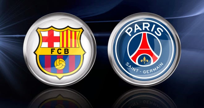 Barcelona vs PSG Paris Saint Germain Liga Champions 2015
