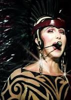 Cher performing 'Bang Bang'