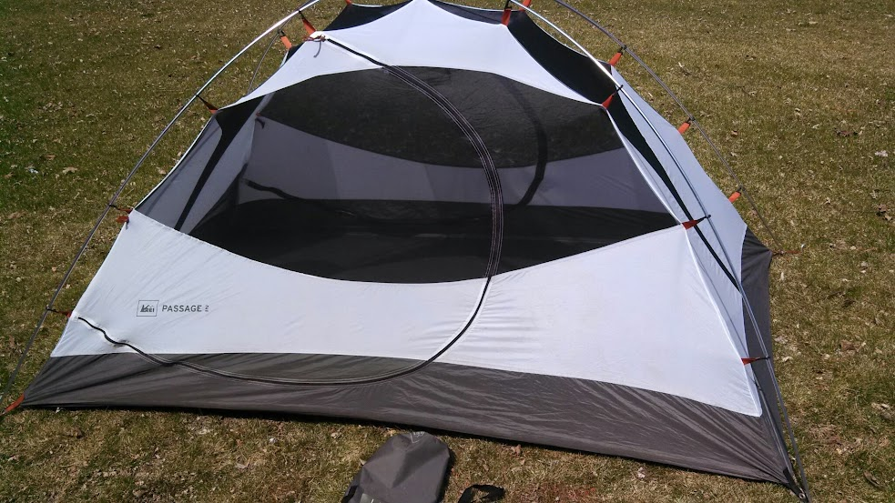 If youu0027re not an ultralighter and youu0027re looking for a backpacking tent I say head over to REI and pick one up! & Restless Wilderness: GEAR REVIEW: REI Passage 2 Backpacking Tent