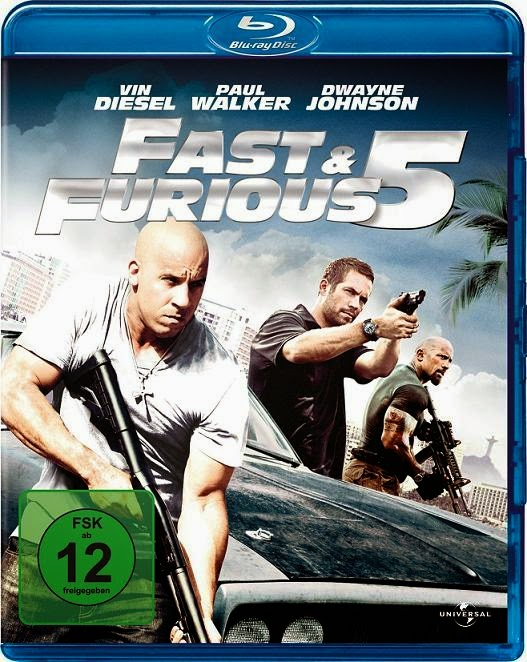 Fast Five (Rápido y Furioso 5)(2011) m720p BDRip 3.7GB mkv Dual Audio DTS 5.1 ch