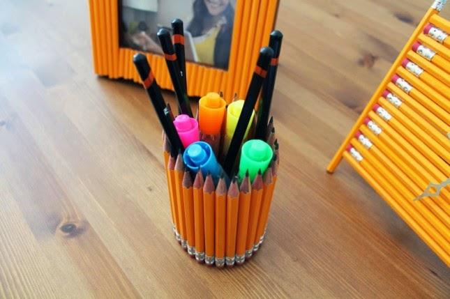 Como Hacer un Organizador de Escritorio con Lapices