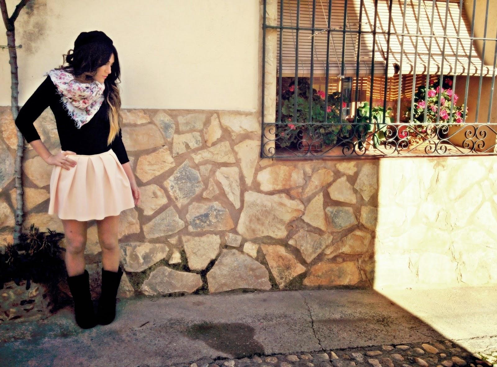 Falda rosa Outfit Blog de Moda