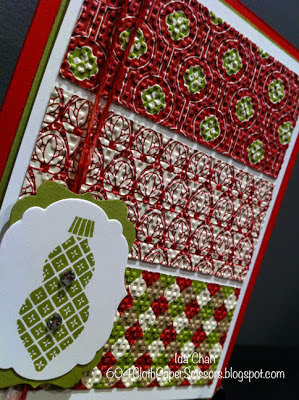 Festival of Prints Christmas Card by Ida Chan Vancouver Stampin' Up!