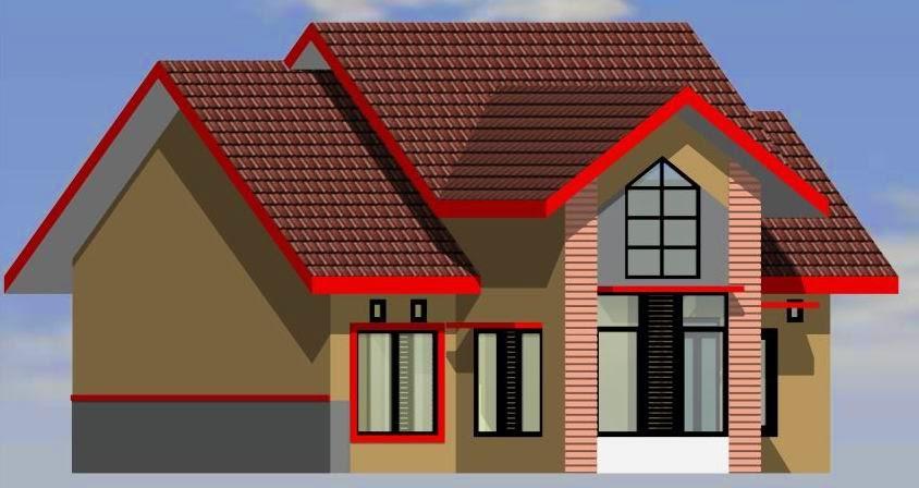 Desain Rumah Sederhana Minimalis Type 70