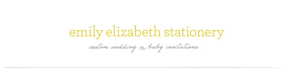 emily elizabeth stationery