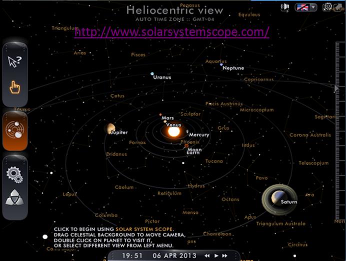 Portal Interactivo Sistema Solar