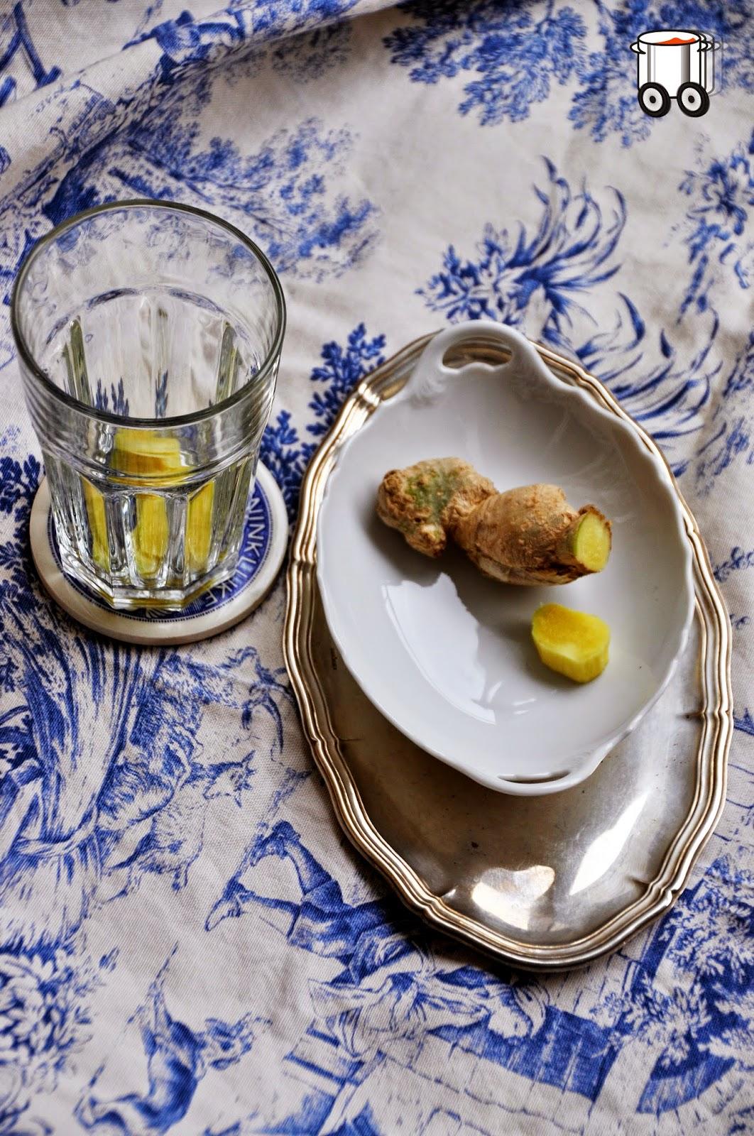 Szybko Tanio Smacznie - Domowa herbata imbirowa