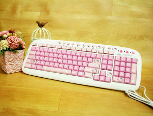Keyboard hello kitty