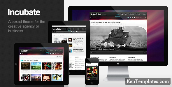 Incubate - Responsive Agency & Portfolio WordPress Theme V1.1