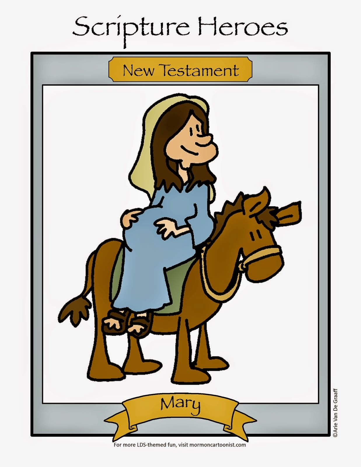 The Mormon Cartoonist Activity Page Newsletter