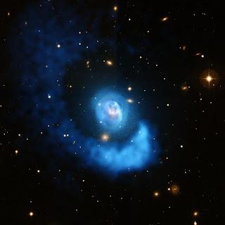галактическое скопление Abell 2052
