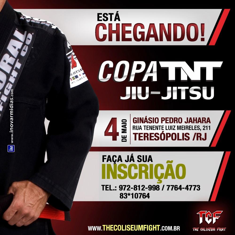 Em maio, Teresópolis recebe a Copa TNT de Jiu Jitsu