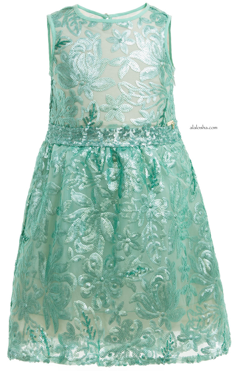 ALALOSHA: VOGUE ENFANTS: Must Have of the Day: WOW green sequinned ...