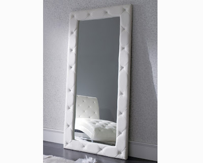 Dise o e interiorismo con forja decorar con espejos seg n for Espejo grande blanco