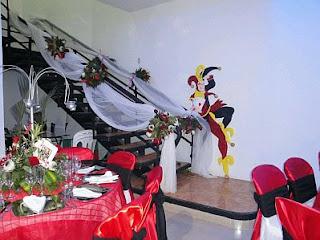 Decoracion de Fiestas de 15 Años Estilo Casino, parte 1