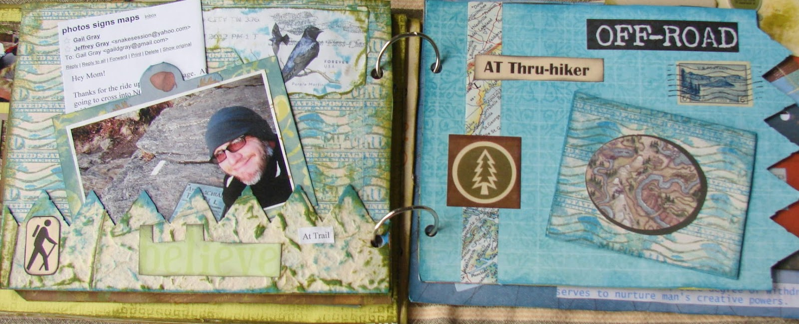 How to scrapbook yahoo - In A Post Long Long Ago I Mentioned A In A Post That I Was Making What They Call In The Scrapbooking World A Mini Photo Album