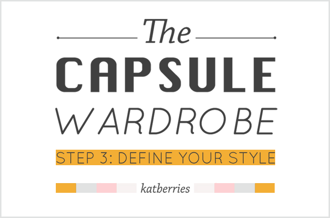 step 3 of 5 steps to a capsule wardrobe