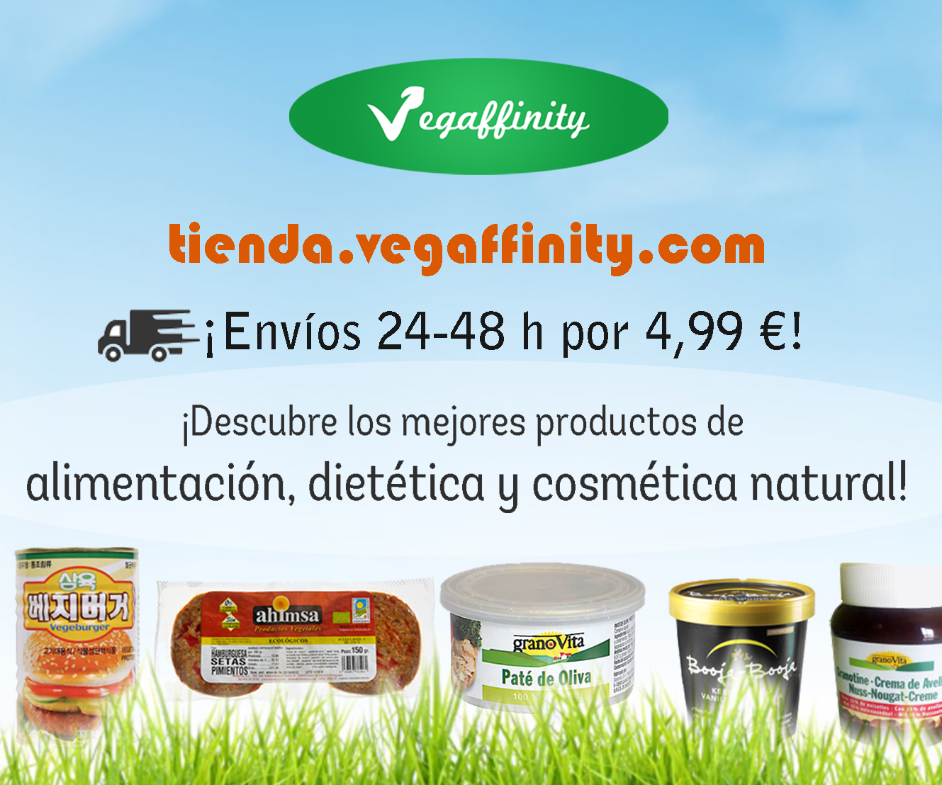 Compra tus productos en Vegaffinity