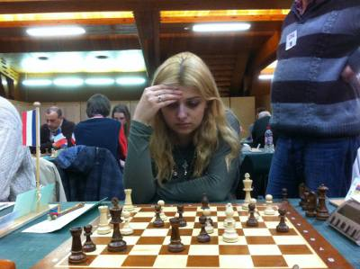 Evgeniya Doluhanova (2269) - Photo © Chess & Strategy