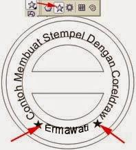 Membuat Disain Stempel dengan Coreldraw