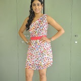 Manisha Yadav Photos in Floral Short Dress at Preminchali Movie Press Meet 72