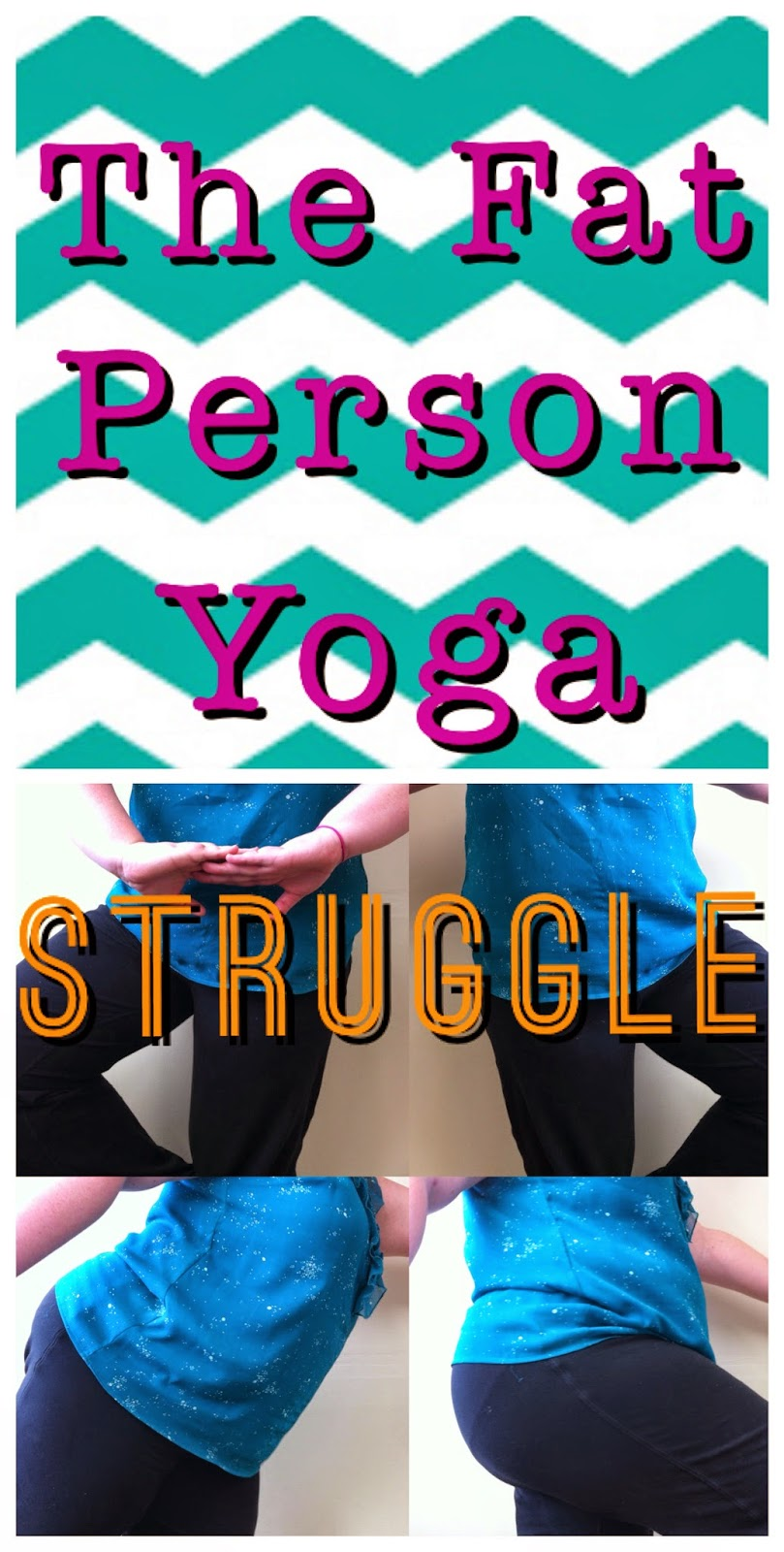 Pushing yourself to yoga as a fat person