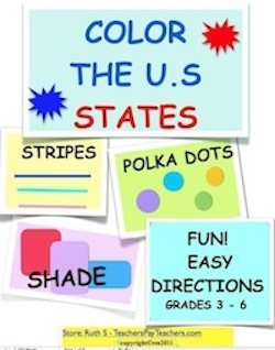 photo of Color the U.S States by Ruth S author