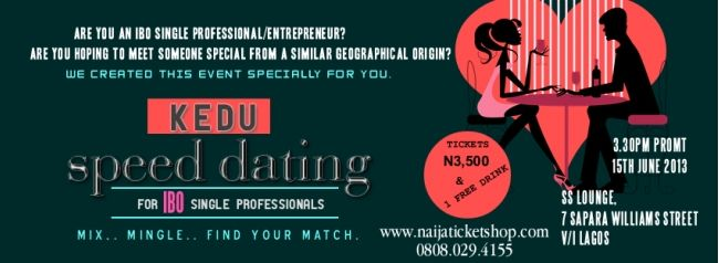 Speed dating nigeria