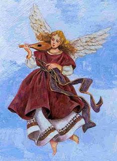 imagens para decoupage de anjos