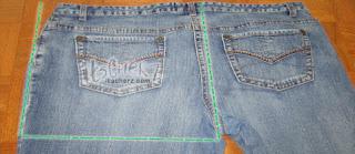 itscherz.com - DIY Overalls with 2 Jeans