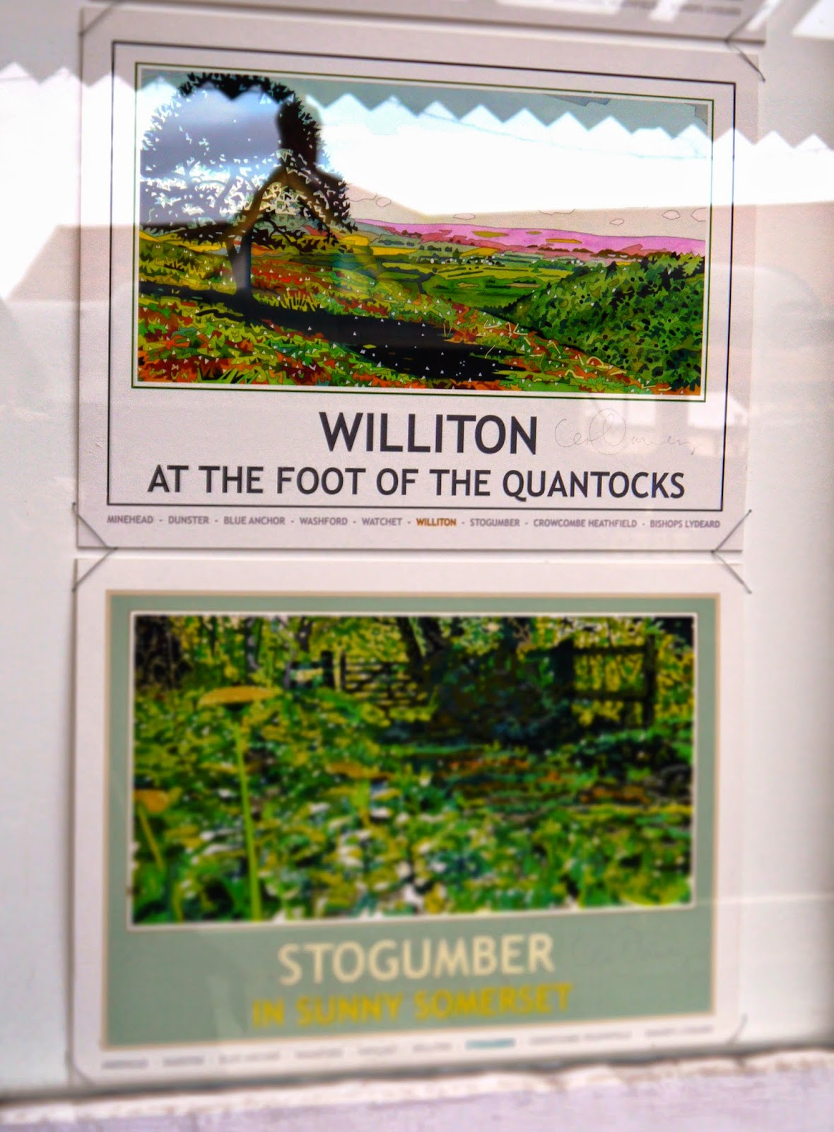 Somerset Railway Tourism Posters