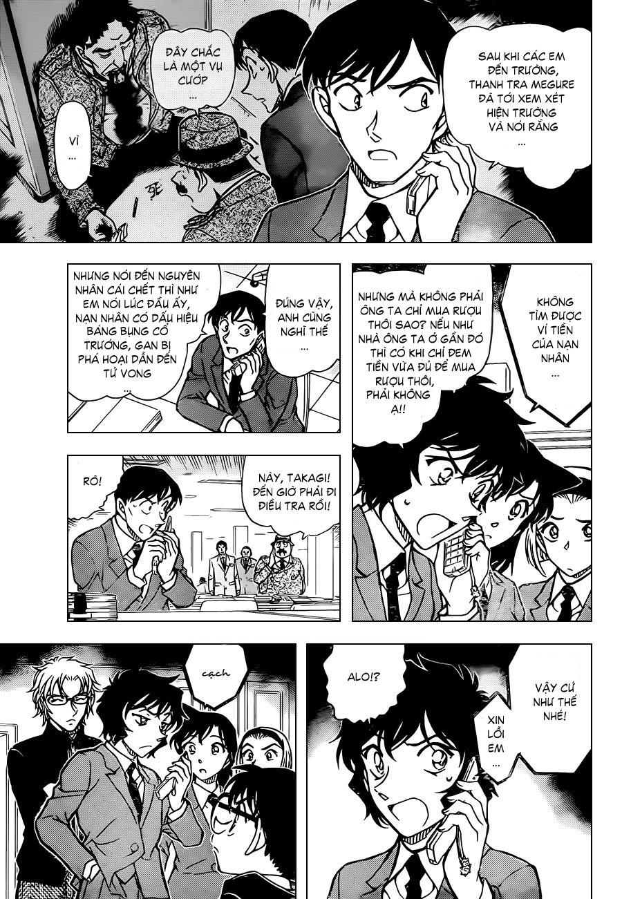 Thám Tử Lừng Danh Conan - Chapter 813 - Pic 11