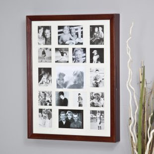 Cool and Beautiful Wall Photo Frame in Wooden Jewelry Armoire