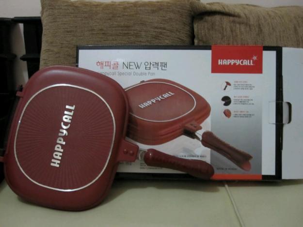 happy call double pan merupakan alat memasak teknologi modern happy ...