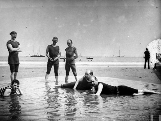 old bathingsuits