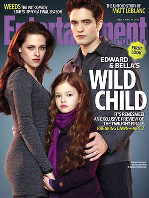 Bella, Edward and Renesmee Cullen (Breaking dawn Part 2)