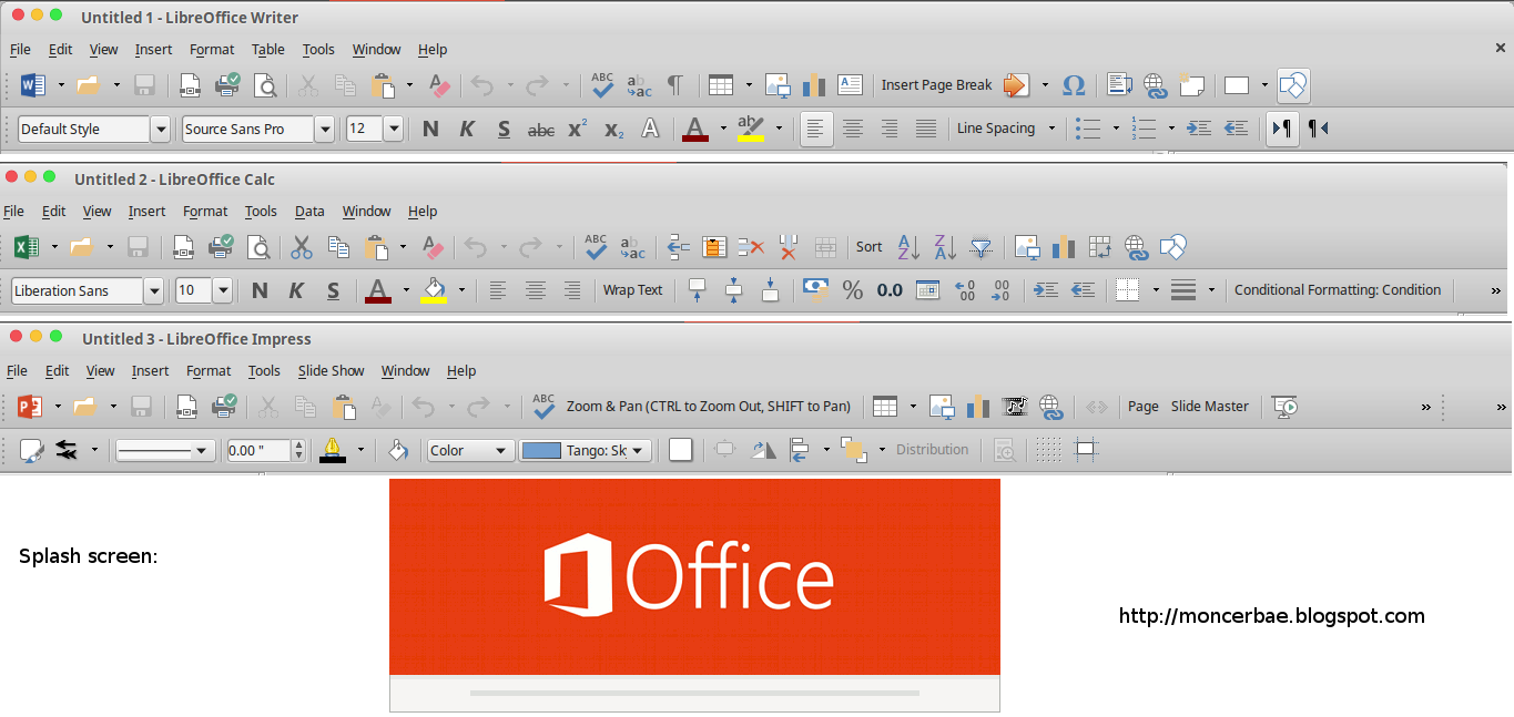 Download Microsoft Office 2013 Theme for LibreOffice