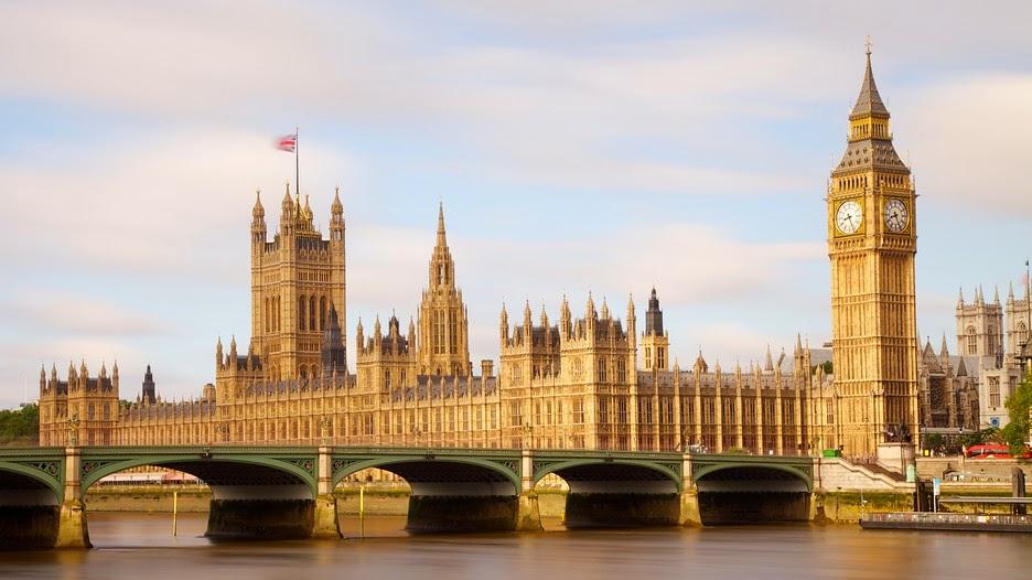 El Big Ben y el Palacio de Westminster en Londres