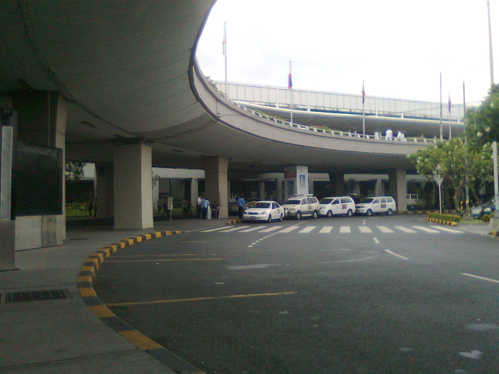 In Anywhere Else how to get from NAIA terminal 2 to