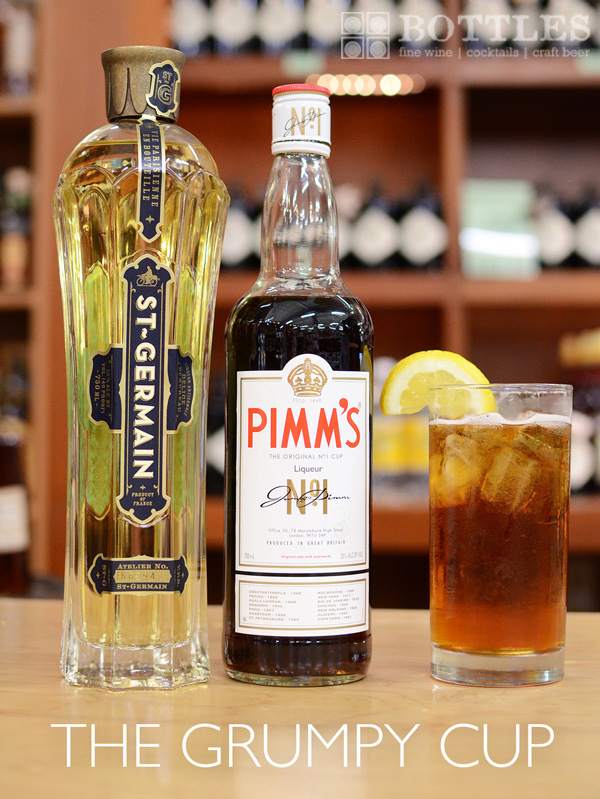 "pimm's cup cocktail ingredients ""grumpy cup"" alternative ideas"