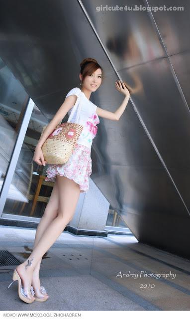 Li-Fan-Pink-and-White-08-very cute asian girl-girlcute4u.blogspot.com