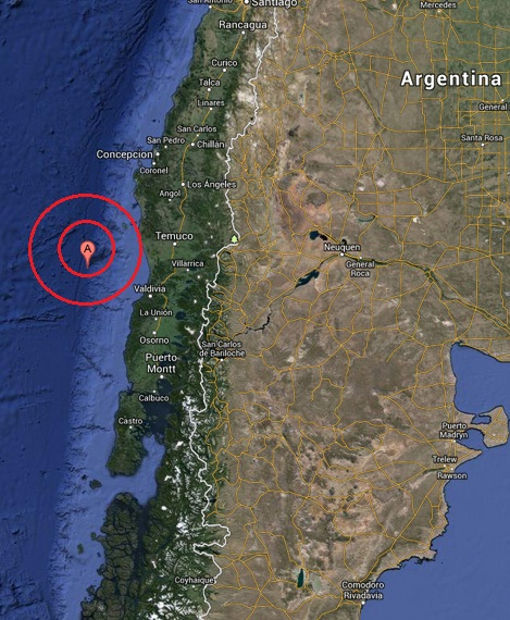 corral, chile earthquake 2013 June 29