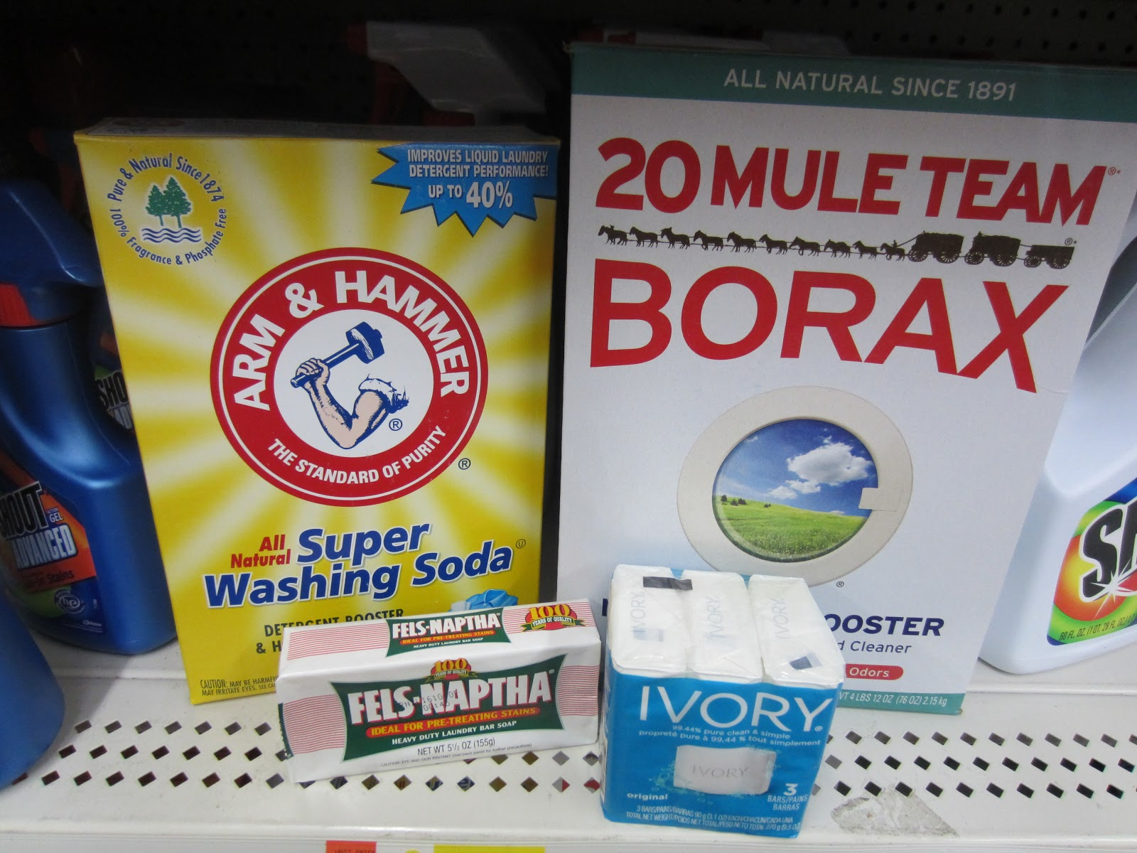Thrifty Handy Mommy Make Your Own Laundry Detergent No