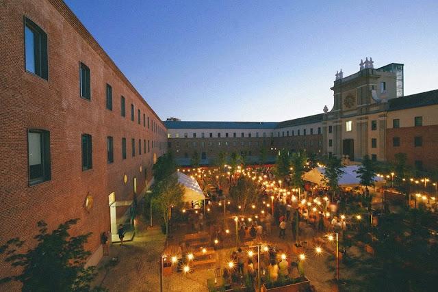 Terraza El Cuartel de Conde Duque_Panorámica